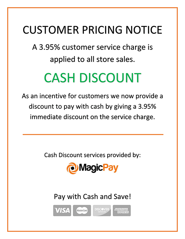 Customer Pricing Notice